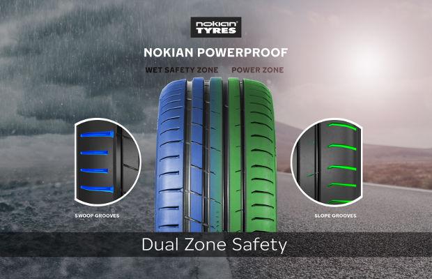 Технология Dual Zone Safety в Nokian Powerproof